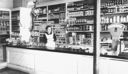 The General Store At Mendon Centre By John G Sheret